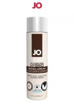 Lubrifiant hybride sans silicone effet frais 120 ml : A base d'eau et d'huile de noix de Coco, ce lubrifiant hybride effet frais est un Must Have de la marque System Joe.